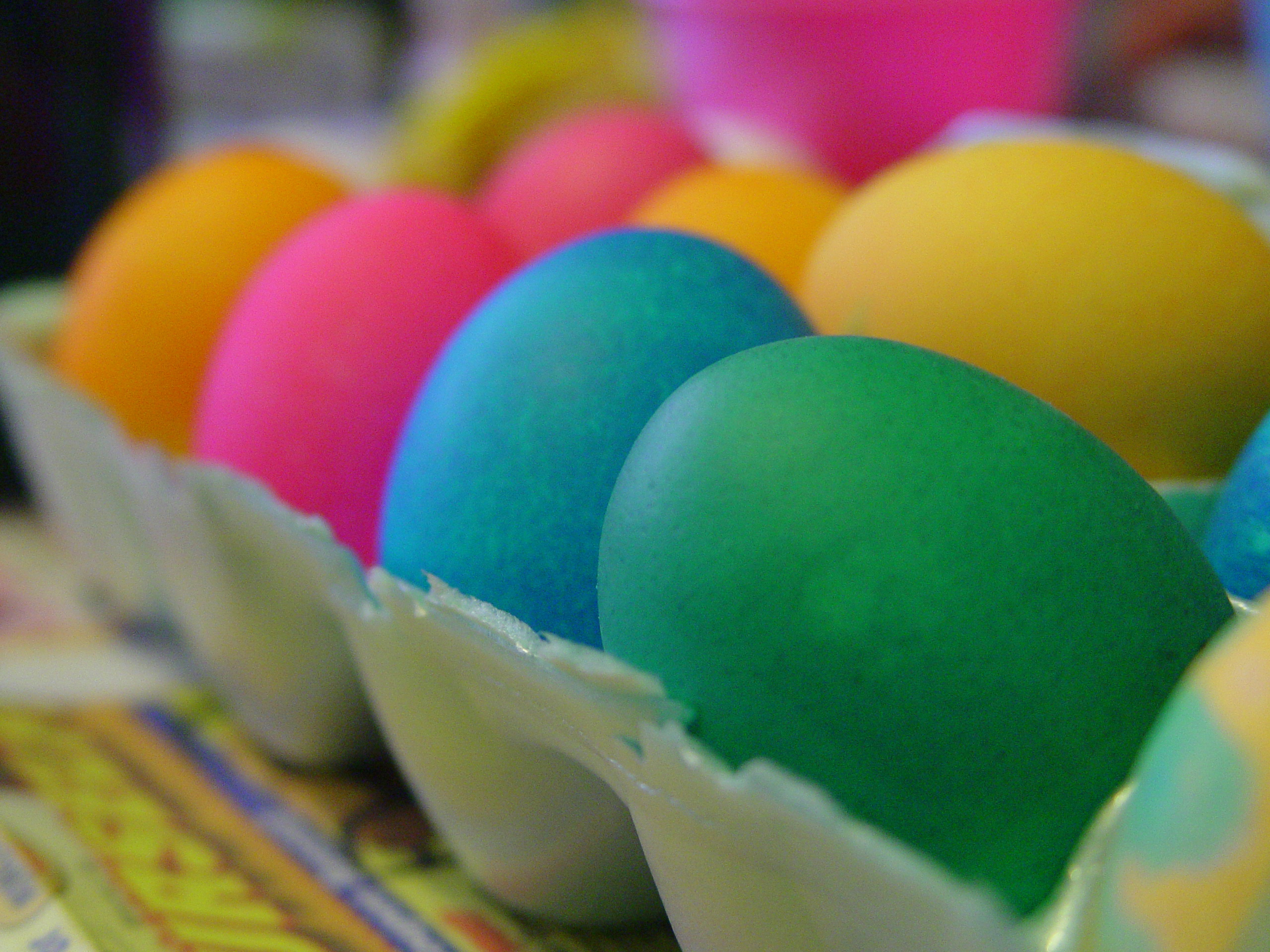 Easter Eggs on blog post by Mary Fran Bontempo